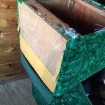 緑色のイスはリメイクします!